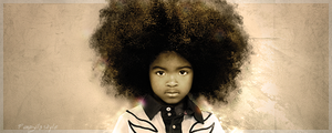 baby afro by fungila