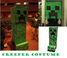 Creeper Costume by GrayStudios