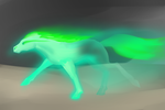 Another Ghost Horse by SarahtheSpartan