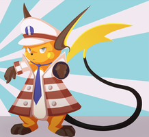 Subway boss raichu by warden006