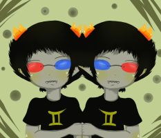 Sollux and...Sollux? by Roselynd