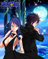 Gray and Juvia : Gruvia Blackcode by nina2119