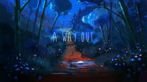 A way out by switch-on-the-lights