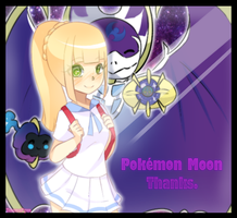 [Fanart] Lillie - S/M - Thanks Pokemon Moon