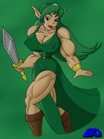 Amazon Warrior Saria by ArchangelDreadnought