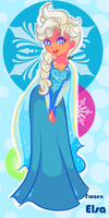 Frozen Elsa sweet snow aww by JamilSC11