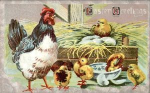 Easter Greetings - Year of the Rooster by Yesterdays-Paper