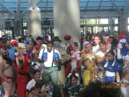 Anime Expo: Street Fighters by WildFantasy