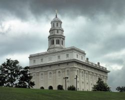 LDS Temple Nauvoo Illinois by thomasboyce
