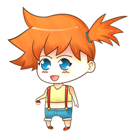 Chibi Misty by cah25