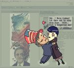 The Hitler n Bush kiss by Fealasy