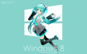 Windows 8 feat. Hatsune Miku by FinnTHidayat