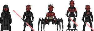 Darth Maul by MicroManED