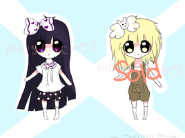 Chibi Adoptable Set 1~ by Melonchu