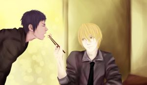 AoKise~ by Silent-Alarm-ororo