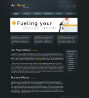 Magazine Site Layout by Cmain