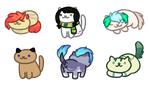 All of the Nekos by Leopardsong
