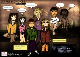 unfinished sketch - actors/cast in storyboard by R1Design