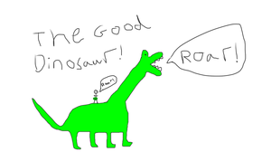 The Good Dinosaur (Realistic) by Sheshur
