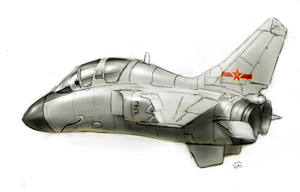 JH-7A by fighterman35