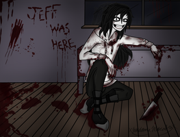 Jeff Wallpaper/ Shirt Design 4 by xMadame-Macabrex