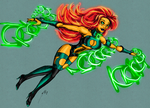 No Name 63 - Green Lantern by UltimeciaFFB