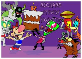 Richard Steven Horvitz by raggyrabbit94