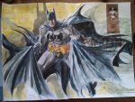 batman again by Nicolas-Demare