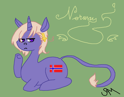 APH-MLP Crossover: Norway by ChopstickGirl241