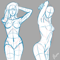 Pose Practice  by inferno0droga