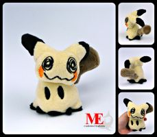 Mimikyu Pokemon Pocket Plush by MayEsdot