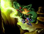 Metroid Bosses: Draygon by Cronoan