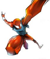 scarlet spider by tobiee