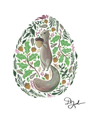 Animal Series - Squirrel by dianequach