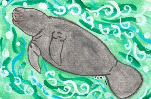 The Gentle Sea Cow by cleveroctober