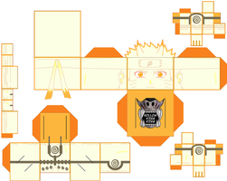 Naruto Yang Nine-Tails Chakra Mode Damaged by hollowkingking