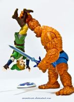 Link Vs The Thing by memetronic