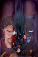 Smallville Season 11 Cover No 6 by gattadonna