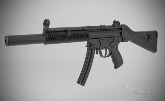 MP5 SD Final (left view) by Temporal333