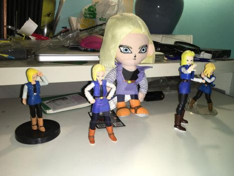 Android 18 Army by gamemaster8910
