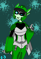 Human Error-Autobot Zephyr by CartoonAnimeGirl