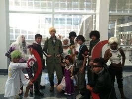 Deadman Wonderland Cosplay Group AX 2012 by lawlietcookies