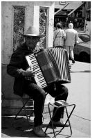 Accordion Man by edhall