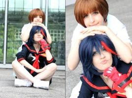Kill La Kill  Friends by YuukiCosplayer