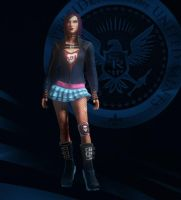 Saints Row IV - Decker Specialist Creation by PrincessCakeNikki