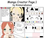 Create Your Own Manga pg.1 by Rinmaru