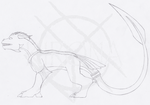 Kirona Small Feral WIP by Kirona
