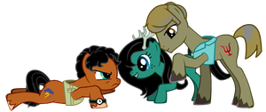 Murder family - style 4 - My little pony by FuriarossaAndMimma