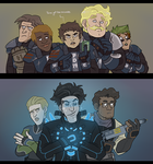 Starless Characters by Sheana