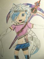 happ coloured by anime-lover64